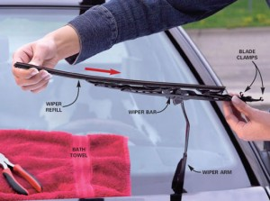 Replacing-Windshield-Blade
