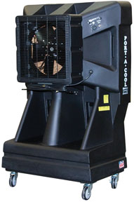 "16"" EVAP 3 Speed Cooling Fan with Vertical Tank, 42-Gallon (PTC-PAC163SVT)"